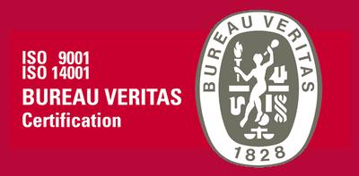Допуск / Сертификация ISO 9001: 2008 & 14001: 2004