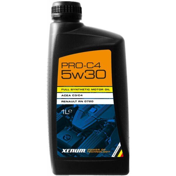 Синтетична моторна олива із допуском C4 XENUM PRO-C4 5W30 1 | Сила технологій для Вашого Авто