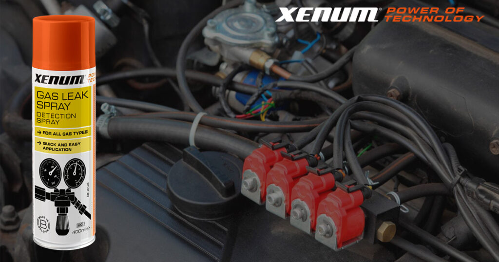 GAS LEAK SPRAY XENUM